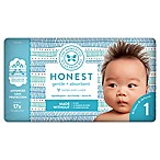Honest 35-Pack Size 1 Diapers in Tribal Pattern