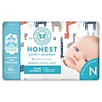 Honest 32-Pack Size 0 Diapers in Multicolored Giraffe Pattern