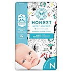Honest 32-Pack Size 0 Diapers in Space Traveling Pattern