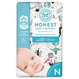 Honest Space Traveling Pattern Diaper Collection