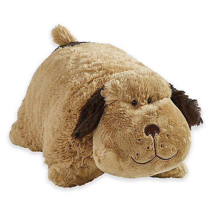 Alternate image 1 for Pillow Pets® Signature Snuggly Puppy Pillow Pet in Brown