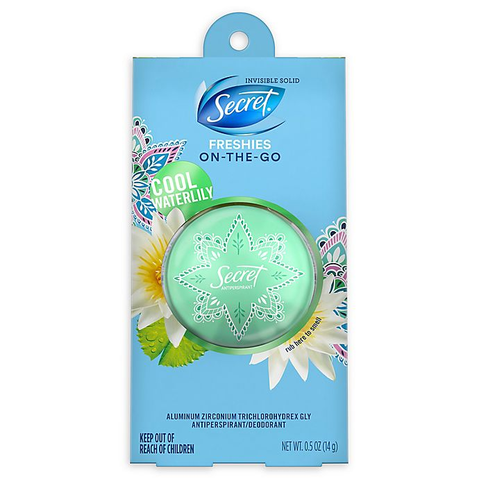 Alternate image 1 for Secret® Freshie Invisible Solid Antiperspirant and Deodorant in Cool Waterlily