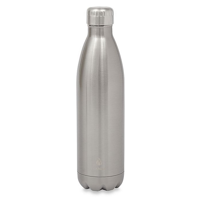 Alternate image 1 for Manna™ Vogue® 25 oz. Stainless Steel Double Wall Water Bottle