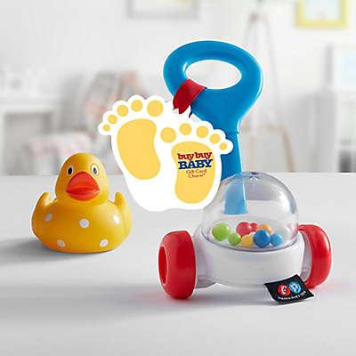 Baby Feet Gift Card Charm