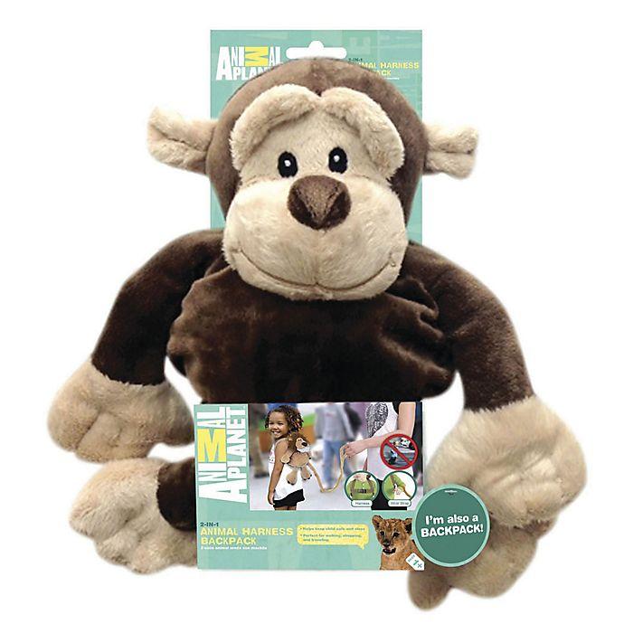 Alternate image 1 for Animal Planet™ Monkey Backpack Harness