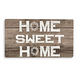 "Bee & Willow™ Home ""Home Sweet Home"" Kitchen Mat in Beige"
