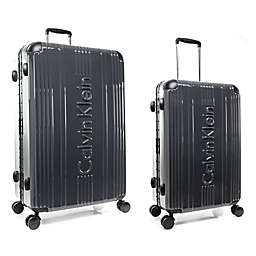 Calvin Klein Fulton Hardside Spinner Checked Luggage