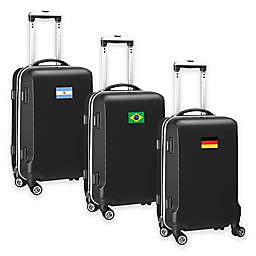 Denco Mojo Flag 21-Inch Hardside Carry-On Spinner Luggage Collection