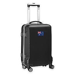 Denco Mojo Australia Flag 21-Inch Hardside Carry-On Spinner Luggage