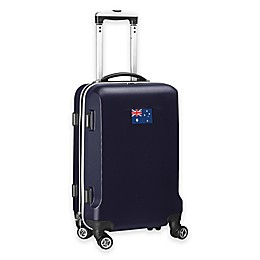 Denco Mojo Australia Flag 21-Inch Hardside Carry-On Spinner Luggage