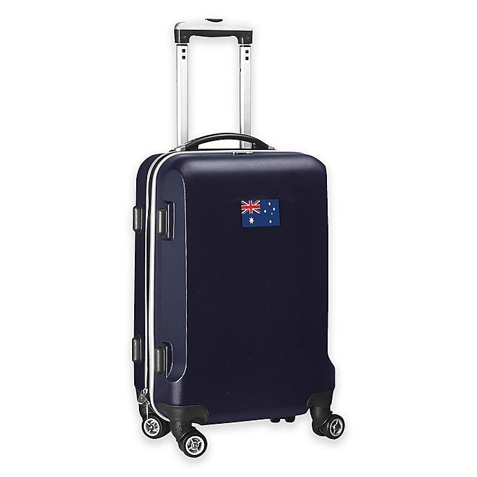 Alternate image 1 for Denco Mojo Australia Flag 21-Inch Hardside Carry-On Spinner Luggage