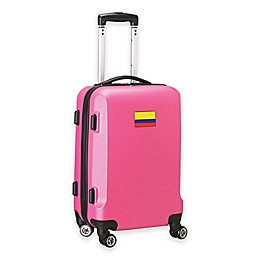 Denco Mojo Colombia Flag 21-Inch Hardside Carry-On Spinner Luggage