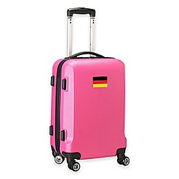 Denco Mojo Germany Flag 21-Inch Hardside Carry-On Spinner Luggage