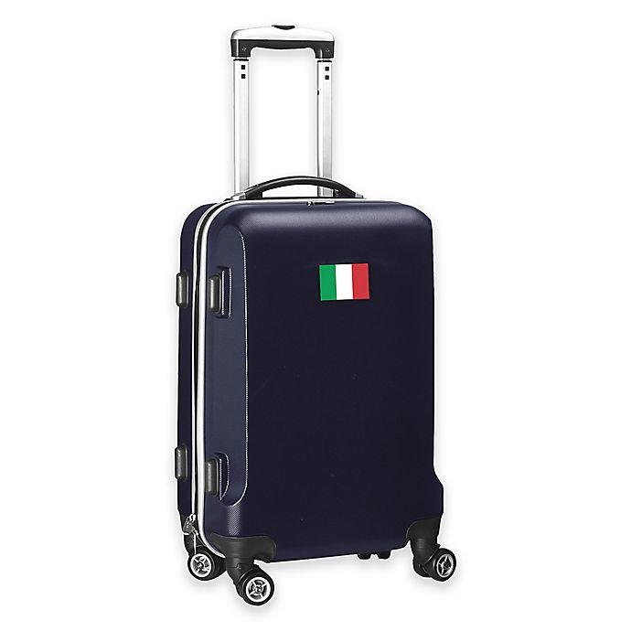 Alternate image 1 for Denco Mojo Italy Flag 21-Inch Hardside Carry-On Spinner Luggage