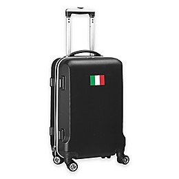 Denco Mojo Italy Flag 21-Inch Hardside Carry-On Spinner Luggage