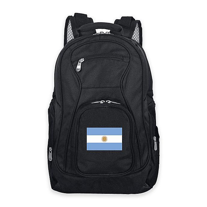 Alternate image 1 for Mojo Argentina 19-Inch Premium Laptop Backpack in Black