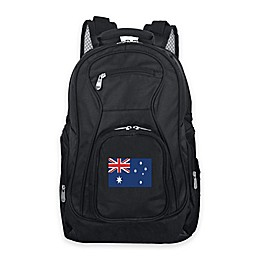 Mojo Australia 19-Inch Premium Laptop Backpack in Black