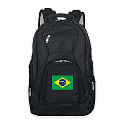 Mojo Brazil 19-Inch Premium Laptop Backpack in Black