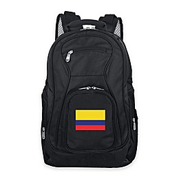 Mojo Colombia 19-Inch Premium Laptop Backpack in Black