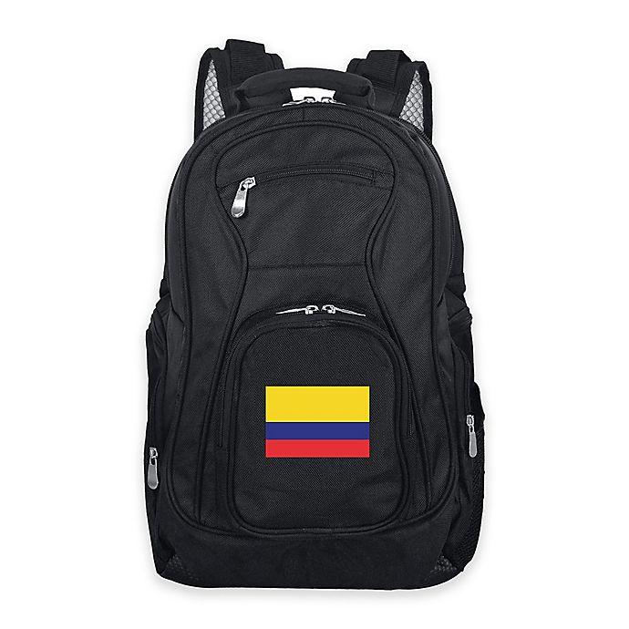Alternate image 1 for Mojo Colombia 19-Inch Premium Laptop Backpack in Black