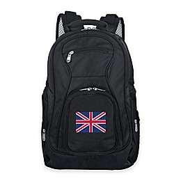 Mojo England 19-Inch Premium Laptop Backpack in Black