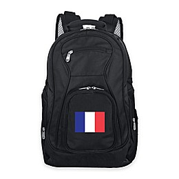 Mojo France 19-Inch Premium Laptop Backpack in Black