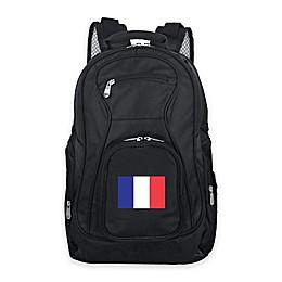 Mojo France 19-Inch Premium Laptop Backpack in Black