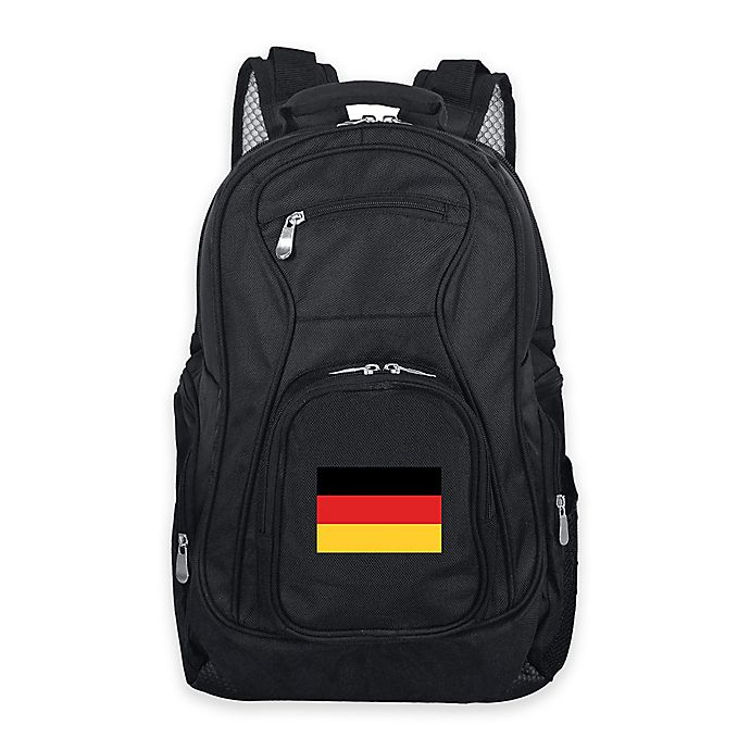 Alternate image 1 for Mojo Germany 19-Inch Premium Laptop Backpack in Black