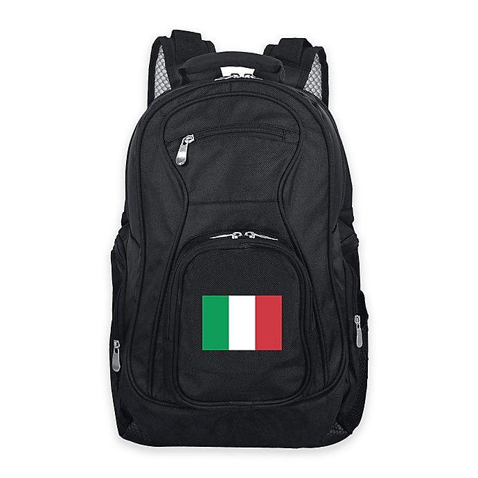 Alternate image 1 for Mojo Italy 19-Inch Premium Laptop Backpack in Black