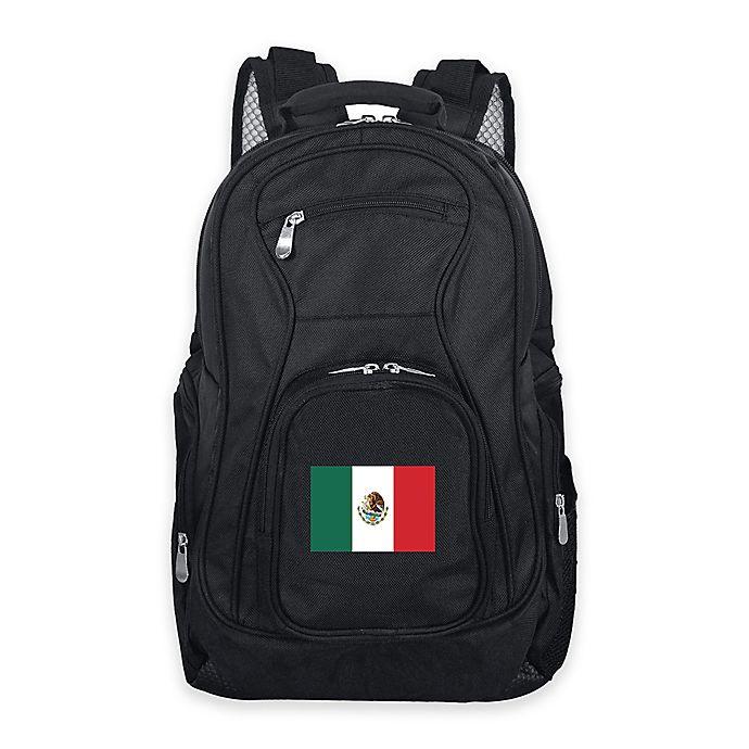 Alternate image 1 for Mojo Mexico 19-Inch Premium Laptop Backpack in Black
