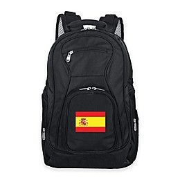 Mojo Spain 19-Inch Premium Laptop Backpack in Black