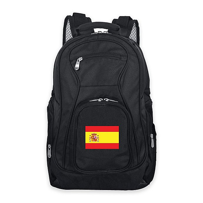 Alternate image 1 for Mojo Spain 19-Inch Premium Laptop Backpack in Black