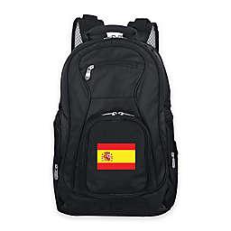 Mojo Spain 19-Inch Premium Laptop Backpack in Black