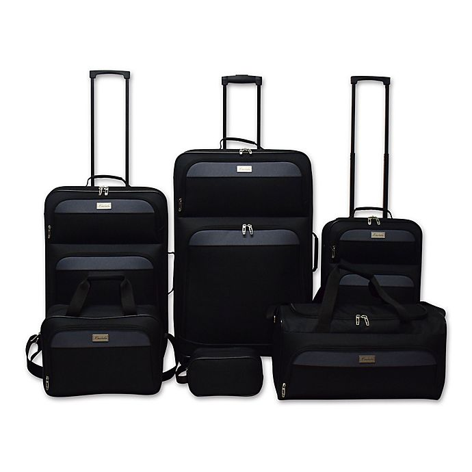 Alternate image 1 for Lucida 6-Piece Luggage Set Closeout