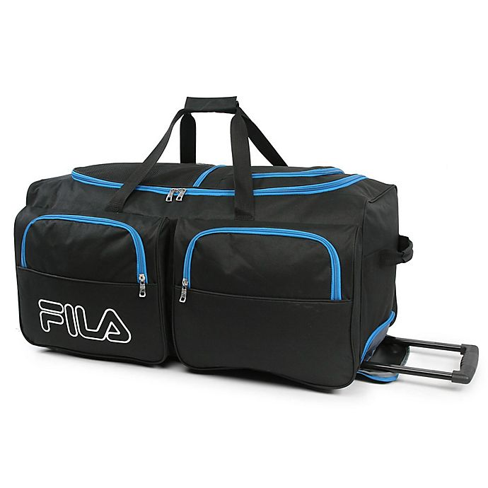 07689eb6c59 FILA 30-Inch Rolling Duffle Bag | Bed Bath & Beyond
