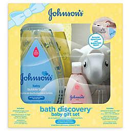 Johnson's® Bath Discovery Baby Gift Set