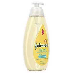 Johnson's® Head-To-Toe® 27.1 oz. Wash & Shampoo