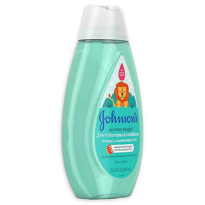 Alternate image 1 for Johnson's® No More Tangles® 13.6 oz. 2-in-1 Shampoo & Conditioner