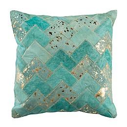 Safavieh Ezla Cowhide Square Throw Pillow