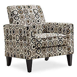 Handy Living® Wood Upholstered Bloomfield Chair