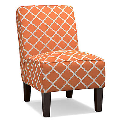 Handy Living® Wood Upholstered Bryce Chair in Orange