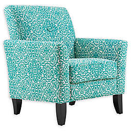 Handy Living® Wood Upholstered Adrian Chair