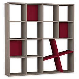 Brian Wooden Bookcase