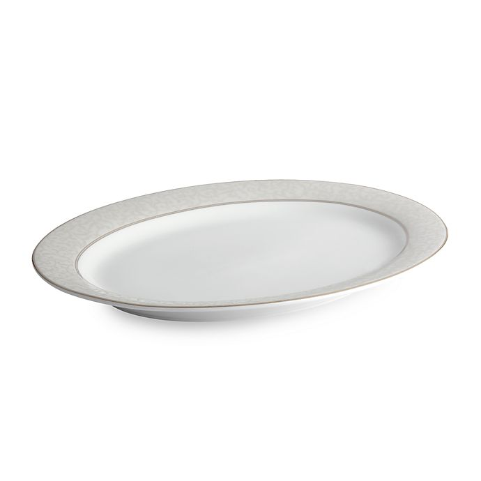 Alternate image 1 for Mikasa® Parchment 14-Inch Oval Platter