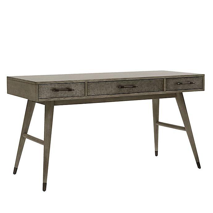 Alternate image 1 for Pulaski Riverdale Desk in Grey