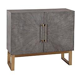 Pulaski Pearsall 2-Door Shagreen Bar Cabinet