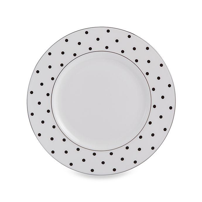 Alternate image 1 for kate spade new york Larabee Road™ Black Accent Plate