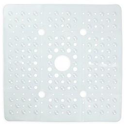 27-Inch Square Anti-Slip Tub Mat in Clear