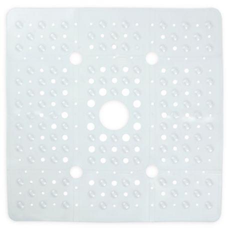 Rocks Vinyl Bath Tub Mat in Clear Brand New 2-Pack