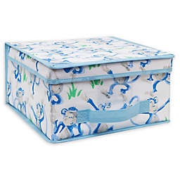 Laura Ashley Kids Medium Collapsible Storage Box in Cheeky Monkey
